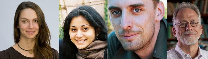Los autores del estudio Katja Liebal, Amrisha Vaish, Daniel Haun y Michael Tomasello