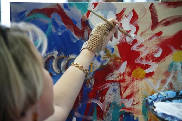 Proceso de arte-terapia en adultos, por Ranken Jordan CC