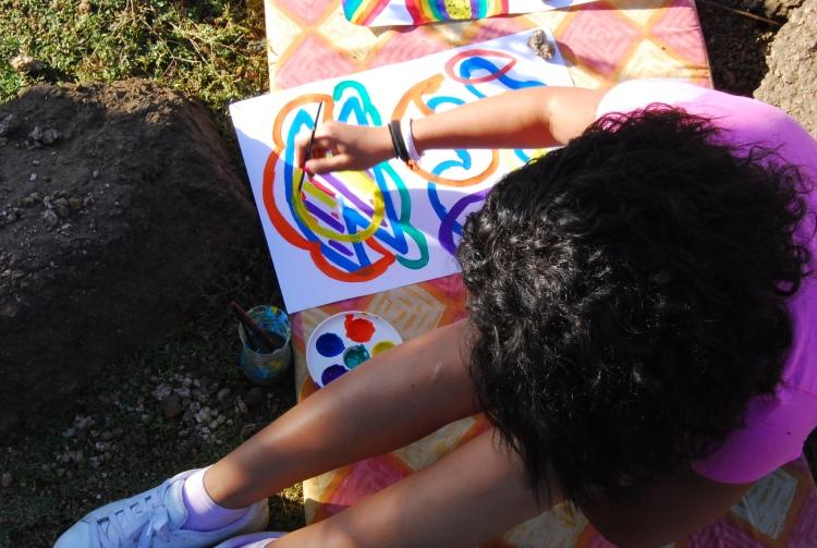 Art-therapy by Rowan El Shimi CC
