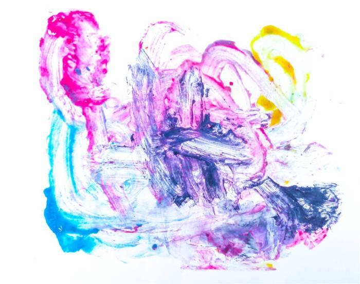 Dibujo de uno de los chimpancés de Fundación Mona
