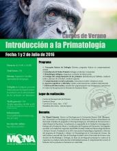 2016 Intro Primatología