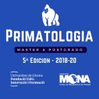 Cartel del Máster en Primatología 5ª Edición Curso 2018-20