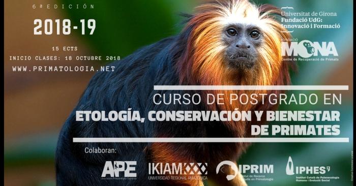 Curso de Postgrado en Etología, Conservación y Bienestar de Primates