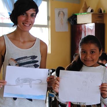 Montserrat Franquesa, coordinadora de proyectos de Miku Conservación